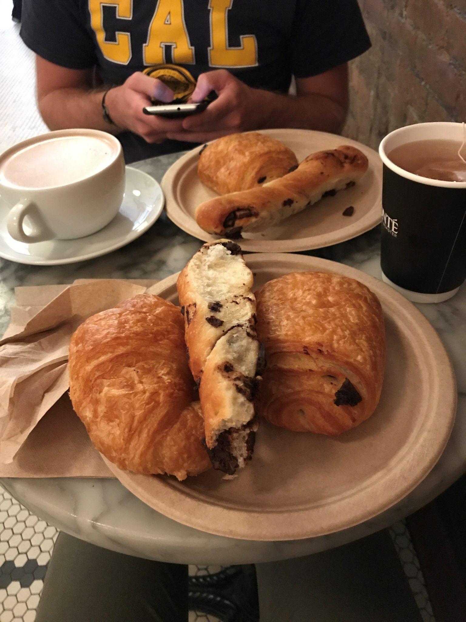 Le petit déjeuner chez Amy's Bread à New York