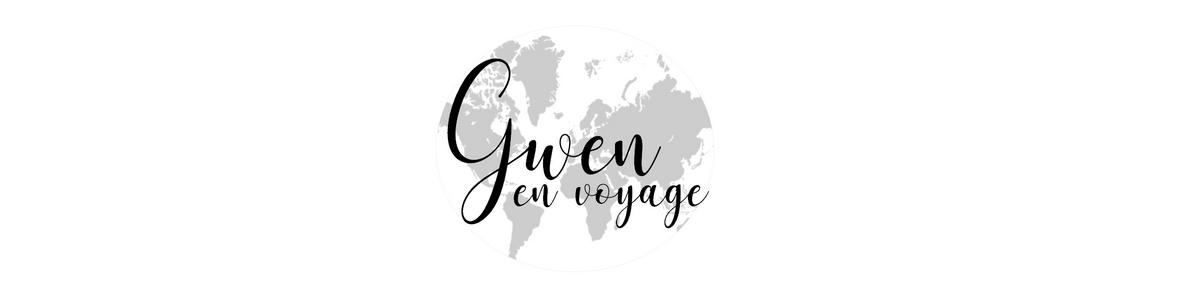 Gwen en voyage