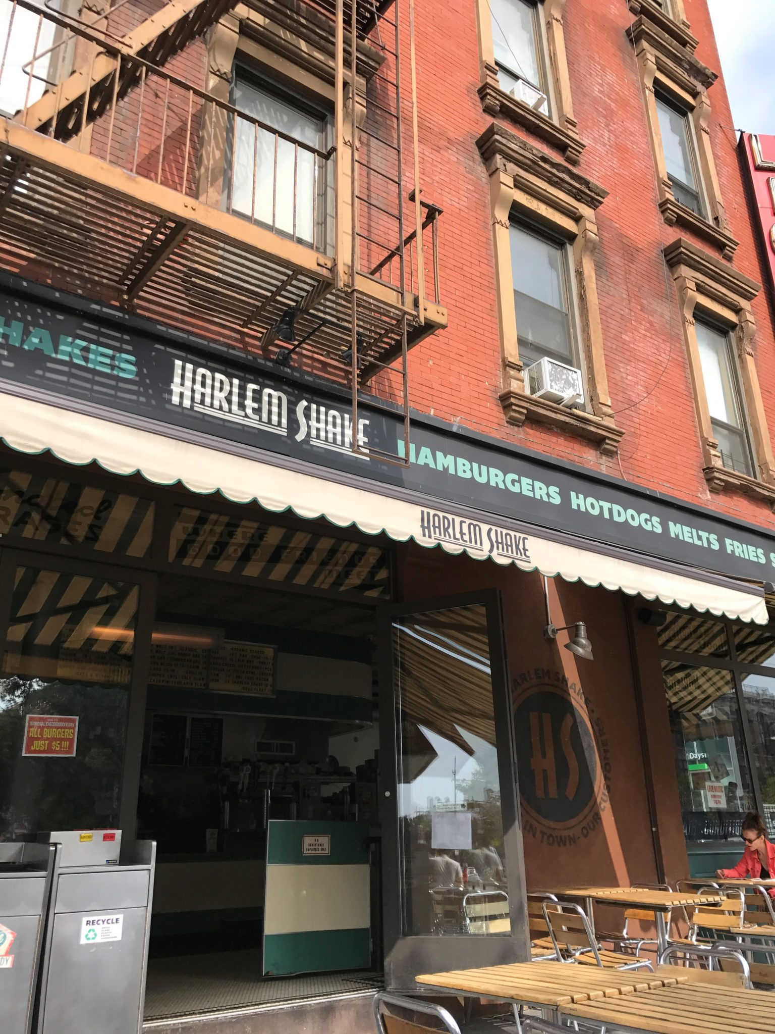 Brunch à Harlem Shake, New York