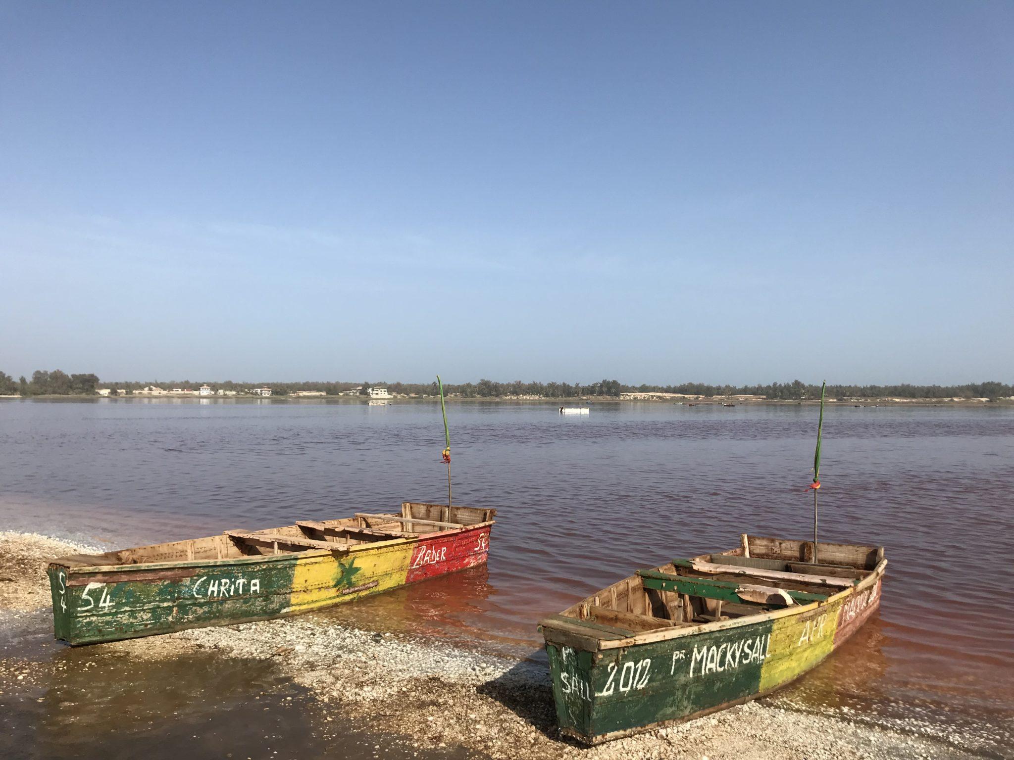 La lac rose au Sénégal