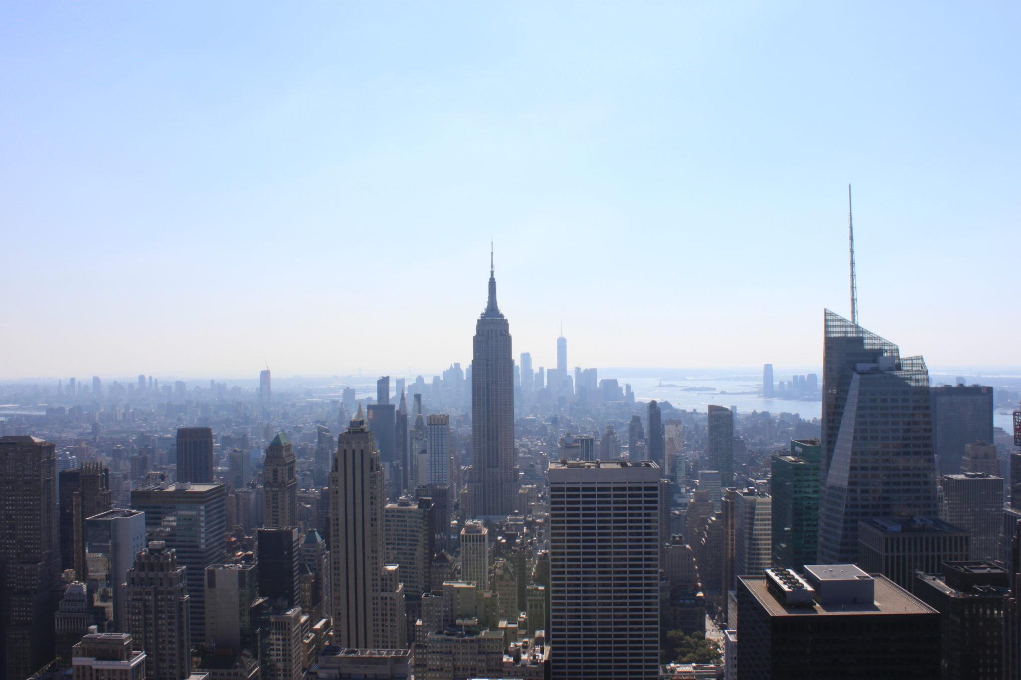Boire un verre sur un rooftop à New York