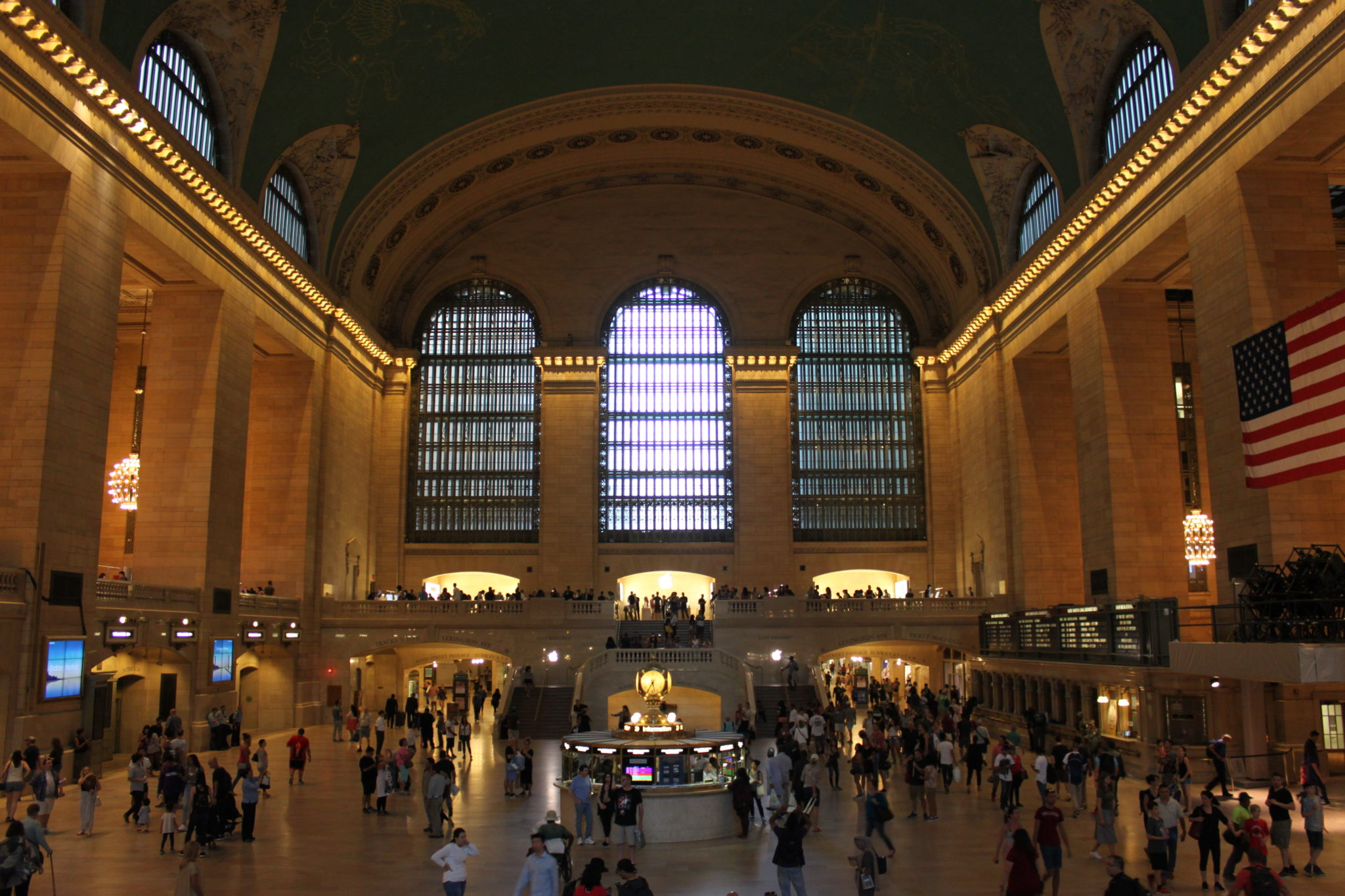 Visite grauite à New York, la gare de Grand Central