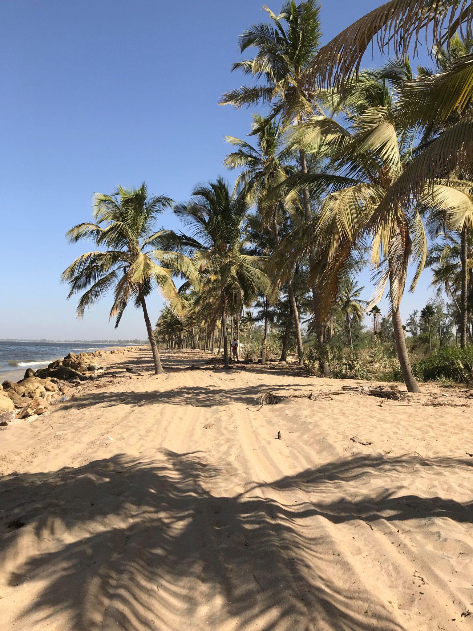 La petite côte au Sénégal