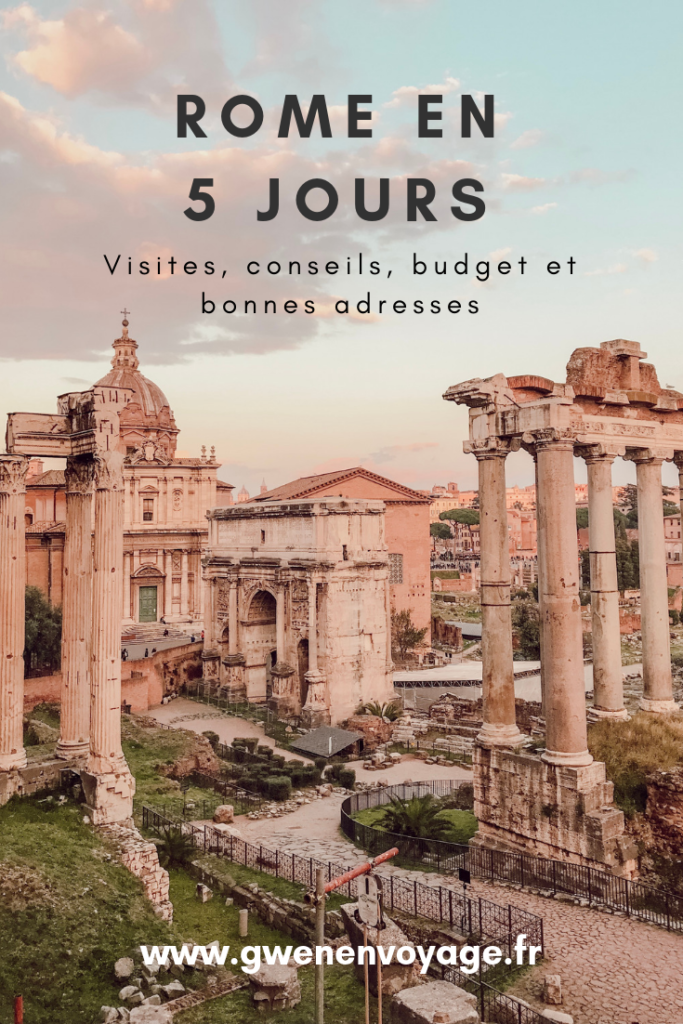 visiter-rome-5-jours-que-voir