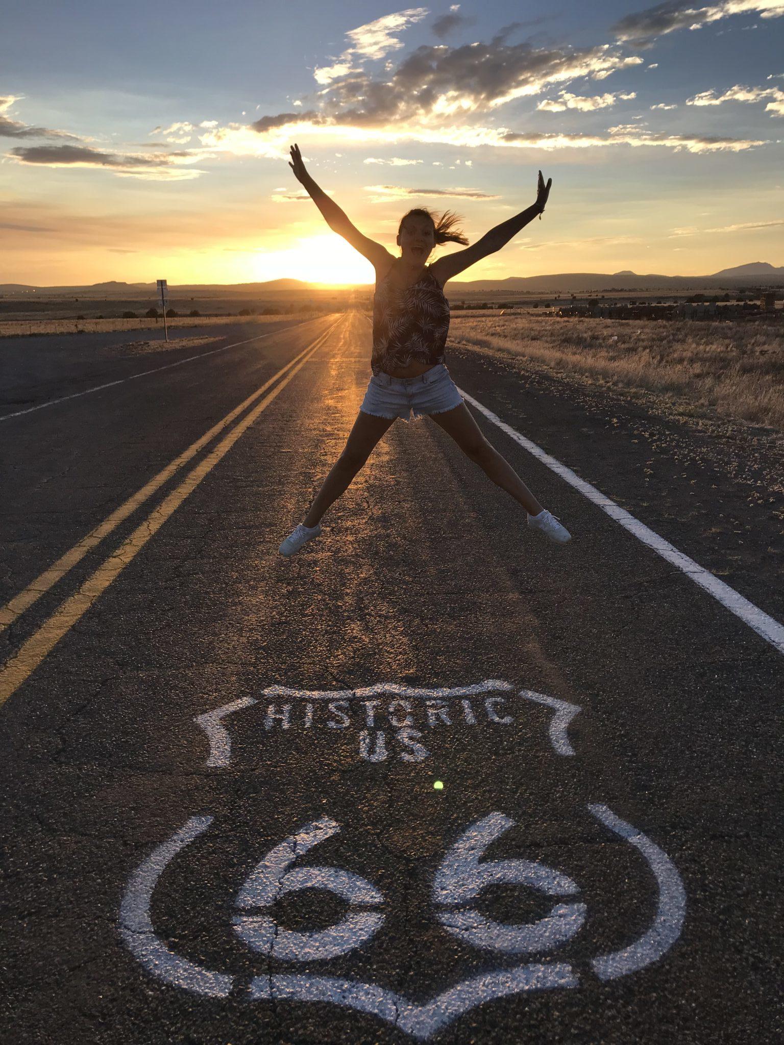 coucher-de-soleil-route-66-ouest-americain