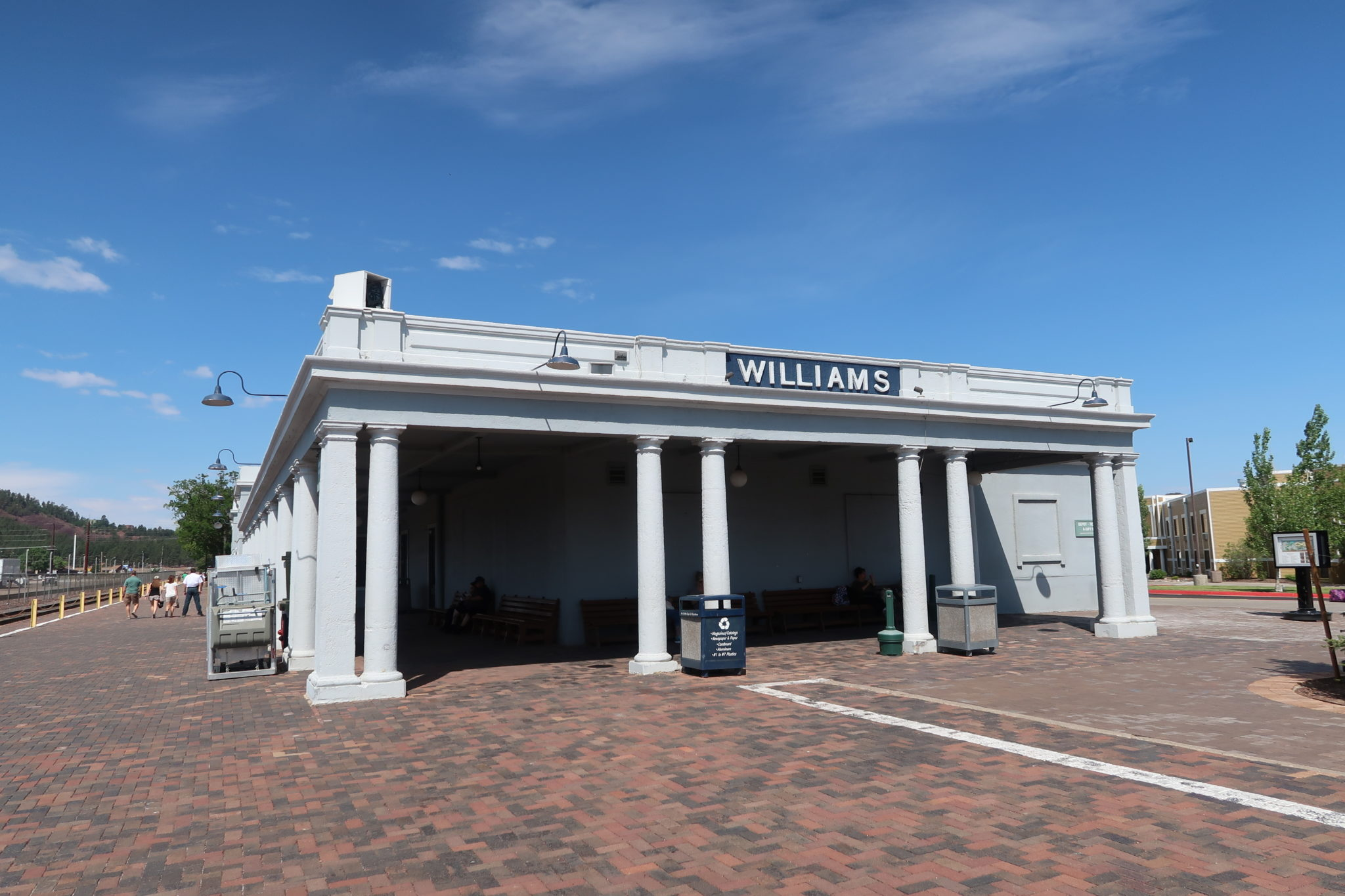 gare-williams-route-66-ouest-americain