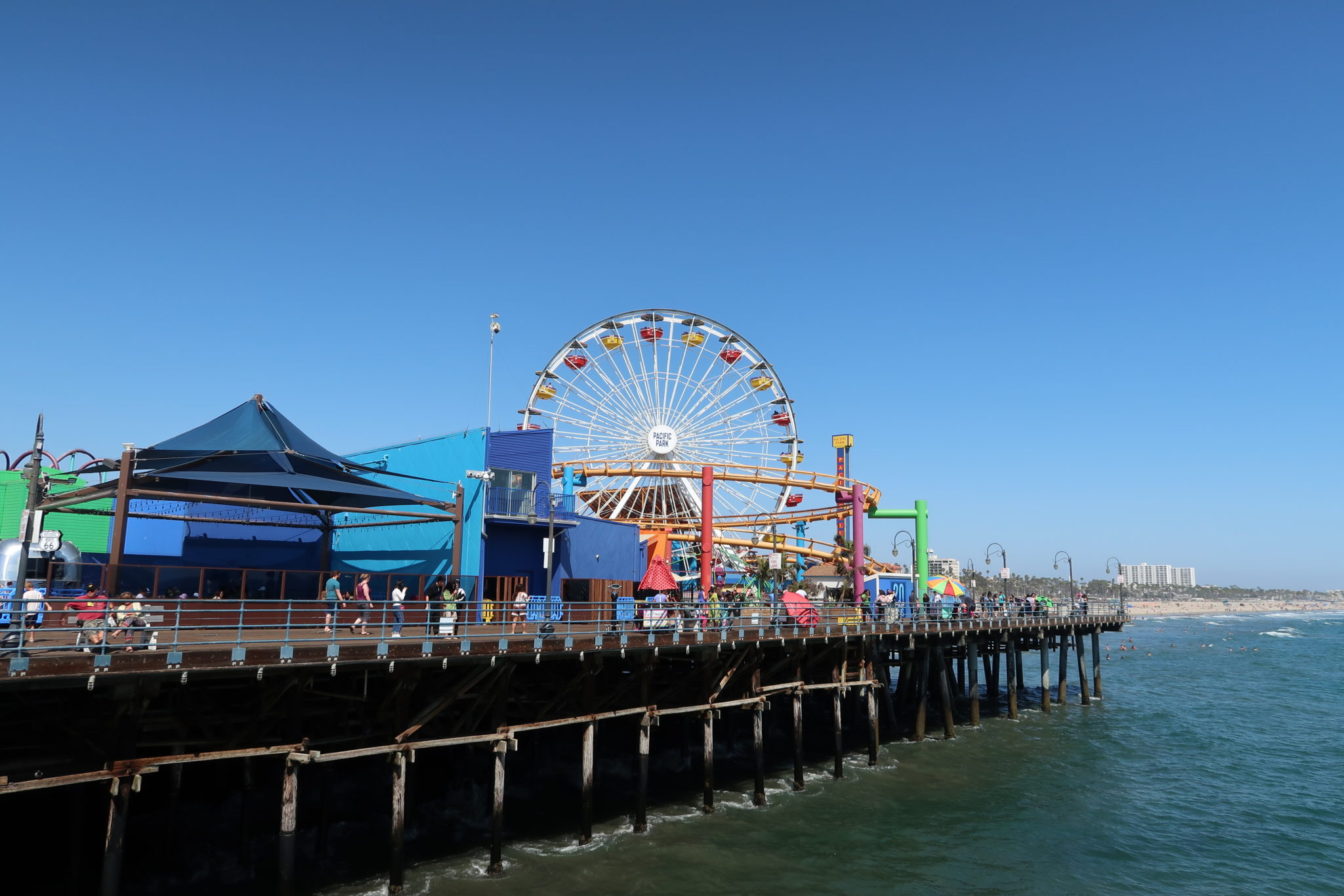 parc-attraction-plage-santa-monica